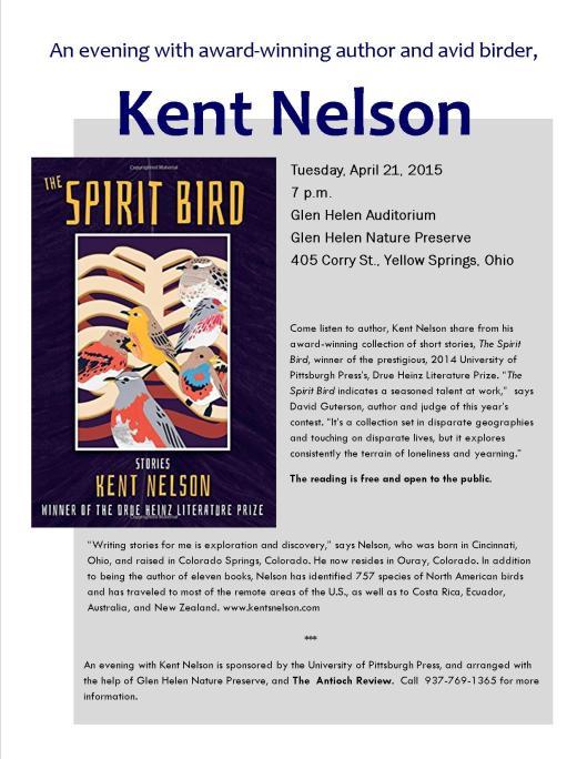 Kent Nelson Reading Flyer